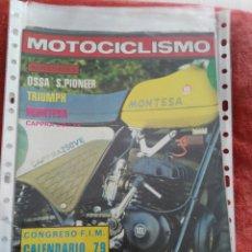 Coches y Motocicletas: REVISTA MOTOCICLISMO N.586 AÑO 1978. Lote 195380478