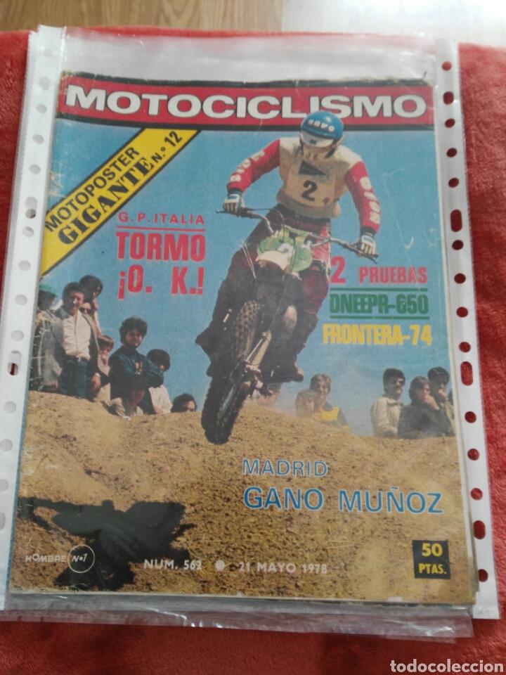 REVISTA MOTOCICLISMO N.562 AÑO 1978 (Coches y Motocicletas - Revistas de Motos y Motocicletas)