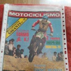 Coches y Motocicletas: REVISTA MOTOCICLISMO N.562 AÑO 1978. Lote 195380861