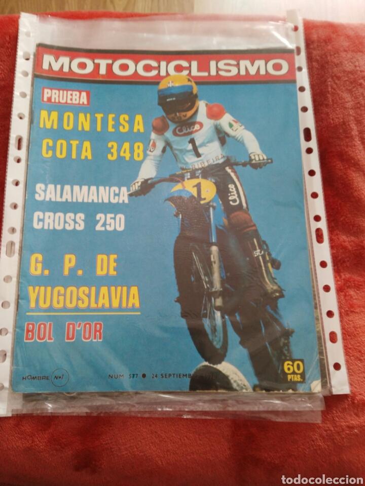 REVISTA MOTOCICLISMO N.577 AÑO 1978 (Coches y Motocicletas - Revistas de Motos y Motocicletas)