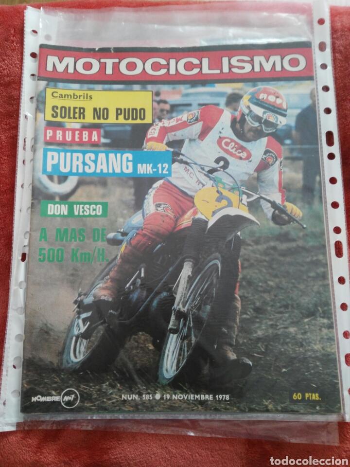 REVISTA MOTOCICLISMO N.585 AÑO 1978 (Coches y Motocicletas - Revistas de Motos y Motocicletas)
