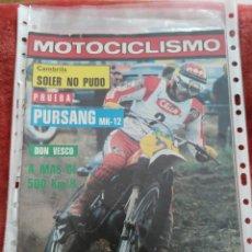 Coches y Motocicletas: REVISTA MOTOCICLISMO N.585 AÑO 1978. Lote 195382572