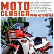 Coches y Motocicletas: MOTO CLASICA N. 60 SEPTIEMBRE 2018 (NUEVA). Lote 195409148