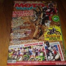 Coches y Motocicletas: REVISTA MOTO VERDE ENDURO CROSS TRIAL RAIDS QUAD N° 379 AÑO 2010 BETA ENDURO TELEX VIGO DAKAR. Lote 195447728