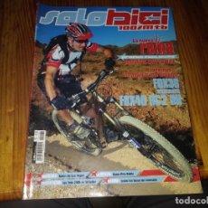 Coches y Motocicletas: REVISTA SOLO BICI CICLISMO N° 162 MTB BICICLETA. Lote 195447941