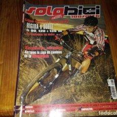 Coches y Motocicletas: REVISTA SOLO BICI CICLISMO N° 164 MTB BICICLETA. Lote 195448041
