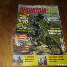 Coches y Motocicletas: REVISTA MOUNTAIN BIKI MOUNTAINBIKE CICLISMO N° 21 BMX BICICLETA BARCELONA CHINA HERMANOS ATHERTON . Lote 195448227