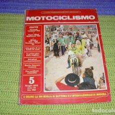 Coches y Motocicletas: MOTOCICLISMO (ITALIANO) 5 MAGGIO 1973 -. Lote 195490112
