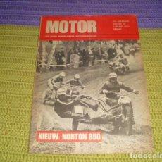 Coches y Motocicletas: MOTOR HET ENIGE NEDERLANDSE MOTORWEEKBLAD - Nº 10 MAART 1973. Lote 195498271