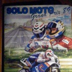 Coches y Motocicletas: SOLO MOTO TREINTA - OTOÑO 1989 - GRAND PRIX 89 - CAMPEONATO DEL MUNDO DE VELOCIDAD - ESPECIAL . Lote 197235050