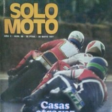 Coches y Motocicletas: SOLO MOTO REVISTA Nº 90 - 20/05/1977 - POSTER SCOTTISH - TORROT CITY - TORMO. Lote 197958360