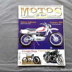 Coches y Motocicletas: MOTOS DE AYER Nº 41 OSSA ENDURO 250 VINCENT COMET 500 MOTO GUZZI ASTORE DERBI 2002 GP DERBI RAN. Lote 198261776