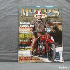 Coches y Motocicletas: MOTOS DE AYER Nº 58 INDIAN SCOUT 101 GILERA SATURNO 500 OSSA 125 A. Lote 198274136