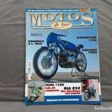 Coches y Motocicletas: MOTOS DE AYER Nº 66 BSA B24 ISOCARRO FURIA MOTOBECANE 125S VESPA 125N 1956. Lote 198281768