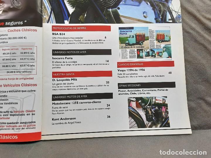 Coches y Motocicletas: MOTOS DE AYER Nº 66 BSA B24 ISOCARRO FURIA MOTOBECANE 125S VESPA 125N 1956 - Foto 3 - 198281768