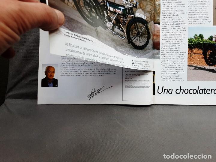 Coches y Motocicletas: MOTOS DE AYER Nº 66 BSA B24 ISOCARRO FURIA MOTOBECANE 125S VESPA 125N 1956 - Foto 5 - 198281768