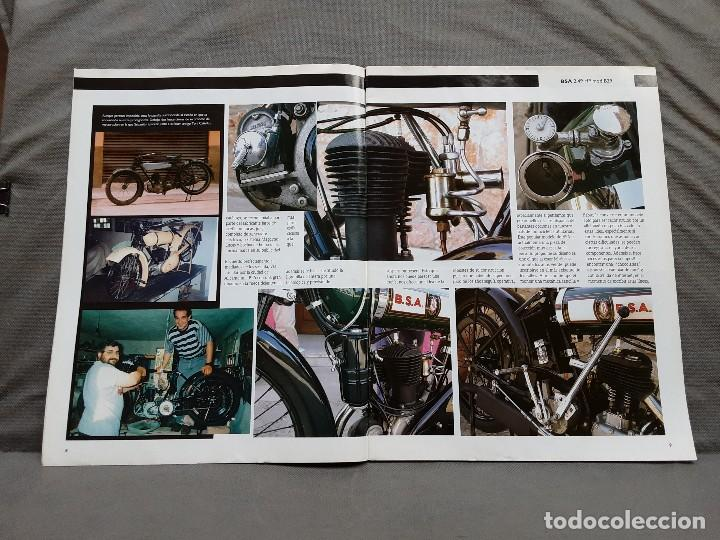 Coches y Motocicletas: MOTOS DE AYER Nº 66 BSA B24 ISOCARRO FURIA MOTOBECANE 125S VESPA 125N 1956 - Foto 6 - 198281768