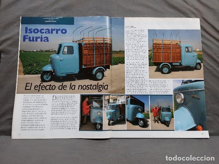 Coches y Motocicletas: MOTOS DE AYER Nº 66 BSA B24 ISOCARRO FURIA MOTOBECANE 125S VESPA 125N 1956 - Foto 8 - 198281768