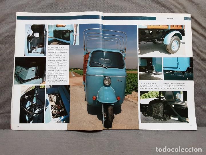 Coches y Motocicletas: MOTOS DE AYER Nº 66 BSA B24 ISOCARRO FURIA MOTOBECANE 125S VESPA 125N 1956 - Foto 9 - 198281768