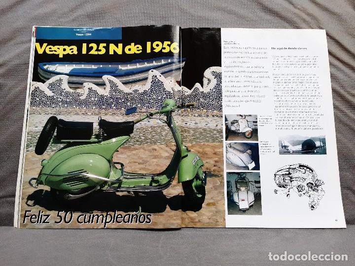 Coches y Motocicletas: MOTOS DE AYER Nº 66 BSA B24 ISOCARRO FURIA MOTOBECANE 125S VESPA 125N 1956 - Foto 14 - 198281768