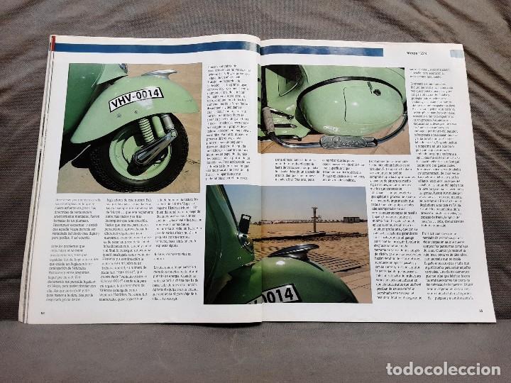 Coches y Motocicletas: MOTOS DE AYER Nº 66 BSA B24 ISOCARRO FURIA MOTOBECANE 125S VESPA 125N 1956 - Foto 17 - 198281768