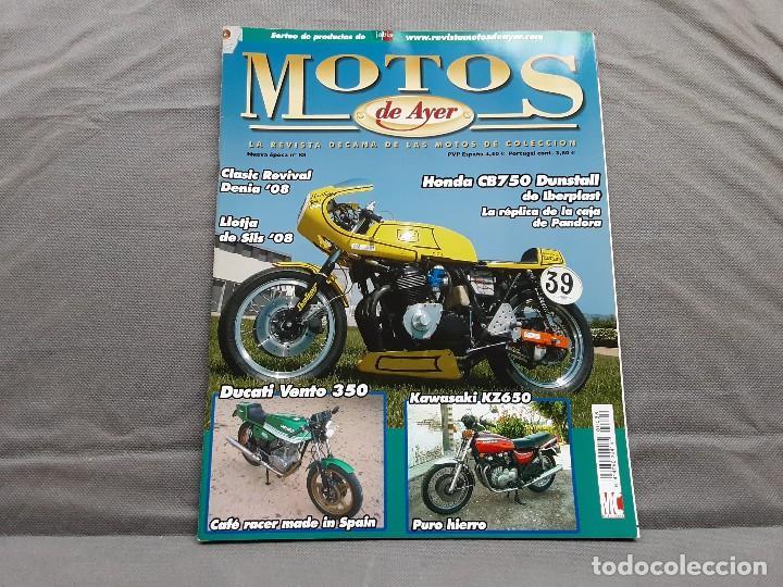 MOTOS DE AYER Nº 88 HONDA CB750 DUNSTALL DUCATI VENTO 350 KAWASAKI Z650 (Coches y Motocicletas - Revistas de Motos y Motocicletas)