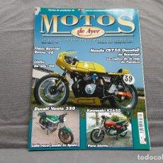 Coches y Motocicletas: MOTOS DE AYER Nº 88 HONDA CB750 DUNSTALL DUCATI VENTO 350 KAWASAKI Z650 . Lote 198281861