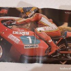 Coches y Motocicletas: POSTER SOLO MOTO. BENJAMIN GRAU DERBI. 30 CM X 45CM.. Lote 221994470