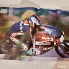 Coches y Motocicletas: POSTER SOLO MOTO. JORGE NAVARRETE ESCUDERIA JJ (DERBI 50 CC). 30 CM X 45CM.. Lote 221994540