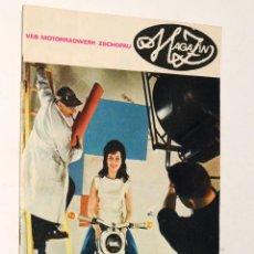 Coches y Motocicletas: CATALOGO - REVISTA DE MOTOCICLETAS MARCA MZ. Lote 199159191