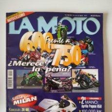 Coches y Motocicletas: REVISTA LA MOTO Nº 90 KAWASAKI ZX 9R 6R SUZUKI GSX R F 750 TL 1000 GS 500 HONDA NT 650 V DEAUVILLE . Lote 199239181