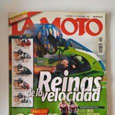 Coches y Motocicletas: REVISTA LA MOTO Nº 91 BMW K 1200 RS APRILIA RS HONDA CBR DUCATI 916 YAMAHA YZF 600 HONDA RC45 . Lote 199239855