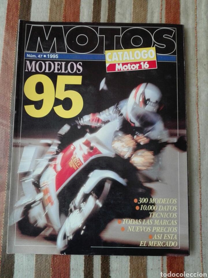 - MOTOS 1995-MOTOR 16 ESPECIAL Nº47 (Coches y Motocicletas - Revistas de Motos y Motocicletas)