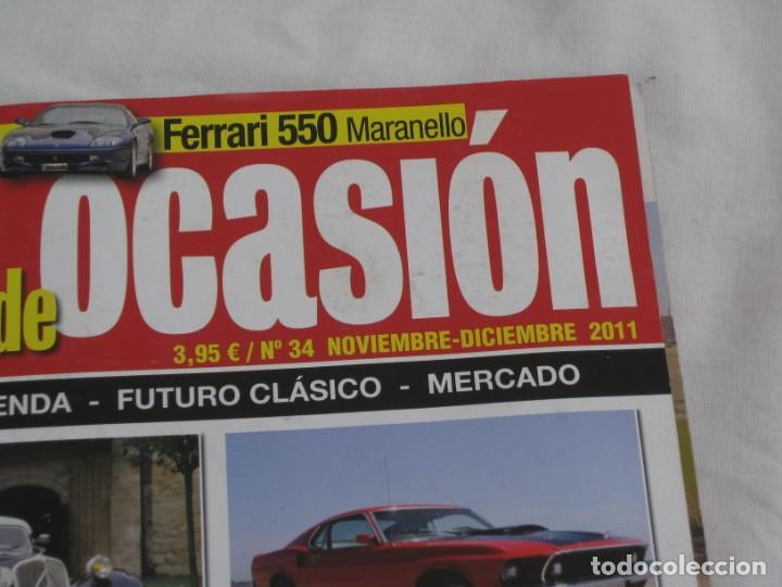 Coches y Motocicletas: Revista Clasicos de ocasion. Nº 34. Nov. Diciembre 2011 - Foto 2 - 200060176
