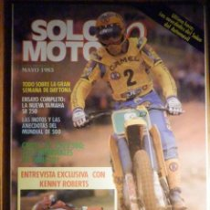 Coches y Motocicletas: SOLO MOTO TREINTA,30 - Nº 4 - MAYO 1983 - YAMAHA SR 250, SEMANA DAYTONA, MUNDIALES MOTOCROSS. Lote 200310852