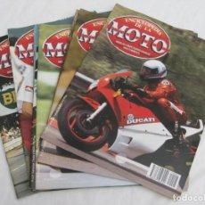 Coches y Motocicletas: ENCICLOPEDIA DE LA MOTO- FASCICULO.9 FASCICULOS.. Lote 201765036