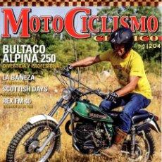 Coches y Motocicletas: MOTOCICLISMO CLASICO N. 204 SEPTIEMBRE 2019 - EN PORTADA: BULTACO ALPINA 250 (NUEVA). Lote 222360130
