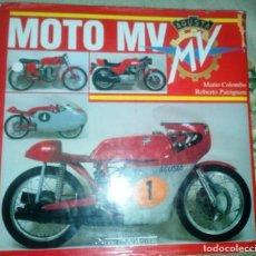 Coches y Motocicletas: MOTO MV AGUSTA ALMANACCO LIBRO ILUSTRADO MUY RARO DE MOTOCICLETAS RARAS Y ANTIGUAS INTROVABILE. Lote 202637003