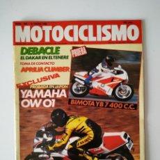 Carros e motociclos: REVISTA MOTOCICLISMO Nº 1090 YAMAHA FZR 750 R OWO1 BIMOTA YB7 BMW K1 BUELL 1200 RR APRILIA CLIMBER. Lote 202687261