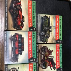 Coches y Motocicletas: A PICTURE HISTORY OT THE MOTOR CAR. Lote 202849328