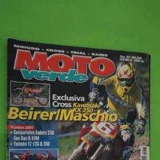 Coches y Motocicletas: REVISTA MOTO VERDE NUMERO 267. Lote 203609987