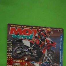 Coches y Motocicletas: REVISTA MOTO VERDE NUMERO 284. Lote 203617400