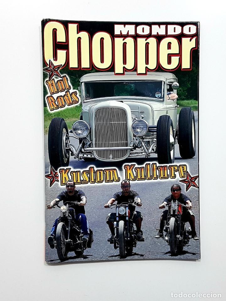 Coches y Motocicletas: LOTE 5 REVISTAS MONDO CHOPPER Números 2,3,4,5 y otra. Revista motos,pinup,kustom - Foto 4 - 204060651
