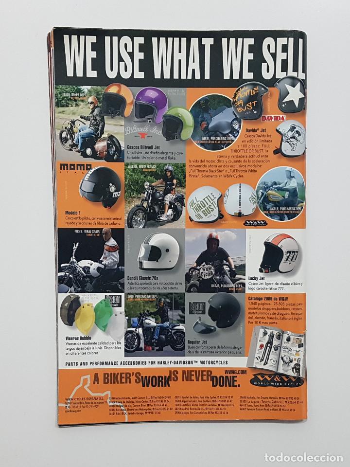 Coches y Motocicletas: LOTE 5 REVISTAS MONDO CHOPPER Números 2,3,4,5 y otra. Revista motos,pinup,kustom - Foto 7 - 204060651