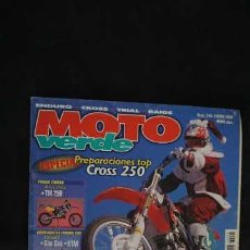 Coches y Motocicletas: REVISTA MOTO VERDE NUMERO 246. Lote 204522276
