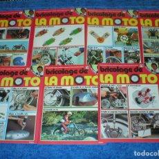Coches y Motocicletas: LOTE 9 FASCICULOS BRICOLAGE DE LA MOTO 1979 CON ANGEL NIETO + TAPAS REGALO EDICIONES UVE EXCELENTE !. Lote 204611155