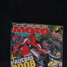 Coches y Motocicletas: REVISTA MOTO VERDE NUMERO 350 + CONTIENE EL POSTER DOBLE Y EN CLASICAS VERDES BULTACO PURSANG MK15. Lote 205431921
