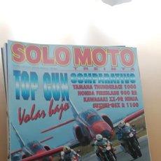 Coches y Motocicletas: REVISTA SOLO MOTO TREINTA N° 160 JUNIO 1996 YAMAHA THUNDERACE 1000 HONDA FIREBLADE 900 RR. Lote 205497438
