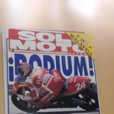 Coches y Motocicletas: REVISTA SOLO MOTO ACTUAL Nº 1034 ABRIL 1996. COMPARATIVA: YAMAHA TT 600 E Y SUZUKI DR 650. Lote 205513802