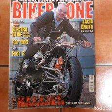 Coches y Motocicletas: BIKER ZONE Nº 191, CUSTOM BIKE & STREETFIGHTER MAGAZINE. Lote 205662632